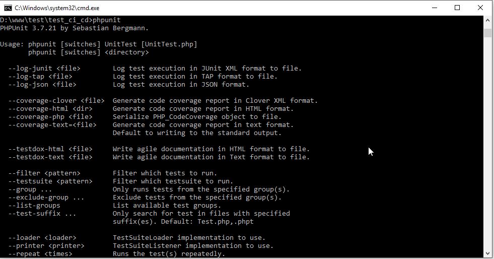 วิธีทำ Automation Testing ด้วย PHPUnit และ Jenkins